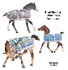 2810 - Breyer Horse Foal Blankets - Three Piece Assortment